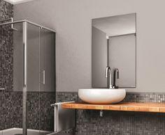 Herschel Select XL Mirror, an energy efficient electric far infrared heater