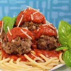 Meatball Nirvana Allrecipes.com