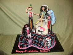 Monster High Cake By JULIAHANSEN on CakeCentral.com