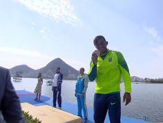 Blog Esportivo do Suíço:  Isaquias Queiroz conquista bronze na canoa individual 200m