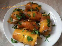 Oggi vorrei proporre una ricetta con i peperoni, un ortaggio molto usato in questa stagione: gli involtini di peperoni con mousse di tonno!