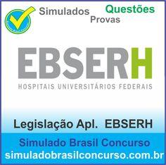 Boa tarde Concurseiros, estamos com novos simulados e questões do concurso EBSERH, da matéria Legislação Aplicada EBSERH e outras matérias. Confirma!!!  http://simuladobrasilconcurso.com.br/  Muito Obrigado e Bons Estudos, Simulado Brasil Concurso  #simuladobrasilconcurso, #questoesEBSERH, #provasEBSERH, #simuladosEBSERH