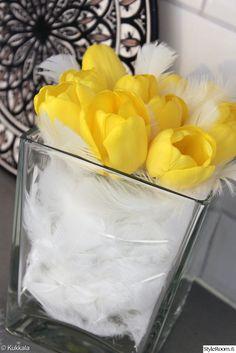 tulppaani,unelmientalojakoti + kukkaidea,pääsiäiskukat,pääsiäinen,keltainen