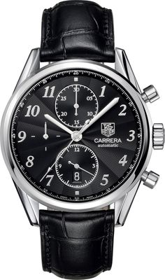 @tagheuer Watch Carrera Chronograph #bezel-fixed #bracelet-strap-alligator #brand-tag-heuer #case-material-steel #case-width-41mm #chronograph-yes #date-yes #delivery-timescale-call-us #description-done #dial-colour-black #gender-mens #luxury #movement-automatic #official-stockist-for-tag-heuer-watches #packaging-tag-heuer-watch-packaging #sku-tag-077 #subcat-carrera #supplier-model-no-cas2110-fc6266 #warranty-tag-heuer-official-2-year-guarantee #water-resistant-100m