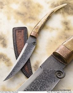 Let's see 'em - Page 2 Cool Knives, Knives And Swords, Blacksmithing Knives, Metal Art Projects, Forged Knife, Forging Metal, Best Pocket Knife, Handmade Knives, Custom Knives