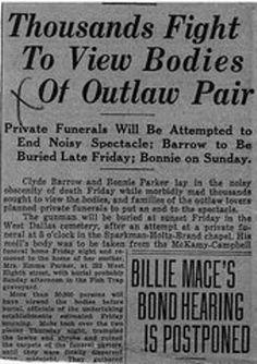 The Bonnie & Clyde Picture Album - Bonnie And Clyde Bodies, Bonnie And Clyde Photos, The Bonnie, Bonnie Clyde, Titanic Wreck, Famous Outlaws, Bonnie Parker, Picture Albums, Best Love Stories