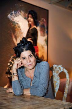 Lita Cabellut Religious People, International Artist, Studio Portraits, Famous Artists, Art Studios, Artist At Work, Art World, Lovers Art, Female Art