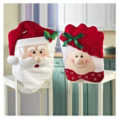 Self-Conscious 4pcs/lot Table Leg Chair Foot Covers Funny Table Decor Christmas Decorations For Home Natal Navidad New Year Decorations 2019 Festive & Party Supplies