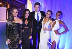 Pin for Later: Les Little Mix Étaient la Définition Même du Mot Glamour Lors des Women of the Year Awards Greg James, Jesy Nelson, Perrie Edwards, Leigh-Anne Pinnock et Jade Thirlwall