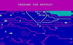 Decision in the Desert is an old DOS  wargame strategy game developed by MicroProse Software in 1985 from an original idea by Ed Bever, Sid Meier.