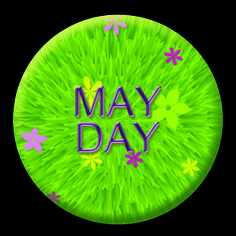 #happymayday to all those celebrating #1stmay #Mayday hope the weather is good for all those #morrisdancing today :)