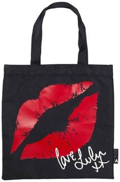 Lulu Guinness For Action On Addiction Charity Tote Bag