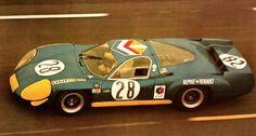 1969 Alpine A 220/69  Renault (2.996 cc.)   Jean Vinatier  André de Cortanze