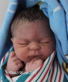 """Reborn baby doll """"Julien"""" I thought it was a real baby!"""
