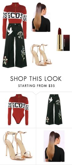 """Untitled #18"" by alexa78-1 on Polyvore featuring GCDS, Alexander McQueen, Nasty Gal and Kevyn Aucoin"