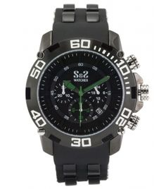Reloj S&S Mod. GU-BK-1307-JS Negro