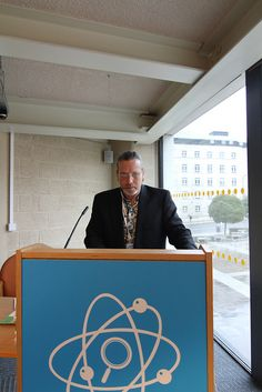 Mal Darwen At Stand for Wordtracker Speech by ionSearch, via Flickr