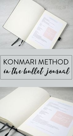 Konmari Spreads for Bullet Journal #bulletjournal #konmari #konmarimethod