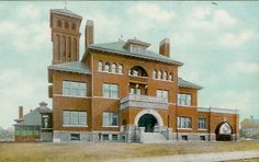 Want to print and frame this- the original Grady Hospital! Georgia Usa, Georgia On My Mind, Atlanta Georgia, Georgia State University, Fulton County, Old Building, Local History, Back In The Day, Historical Photos