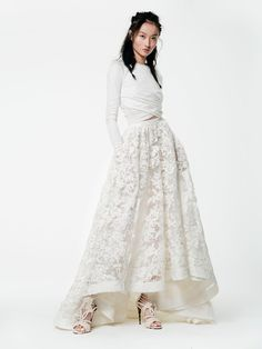 Mcdowel top | Macabeau skirt Houghton Bridal