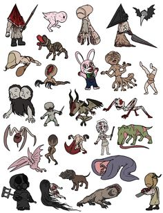 Chibi monsters