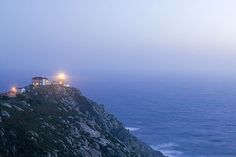 Finisterre lighthouse, Galicia, Spain