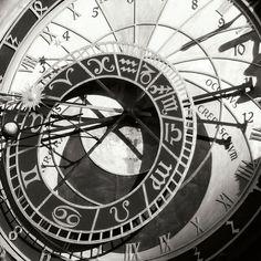 Posterazzi Prague Clock II Canvas Art - Jim Christensen x Nan Tattoo, Prague Clock, Clock Tattoo Design, Tattoo Designs, Clock Tattoos, Poster Prints, Art Prints, Symbolic Tattoos, Framed Artwork