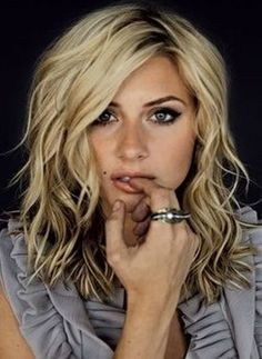 20 funky hairstyles for medium length hair. Hairstyles for shoulder length hair…