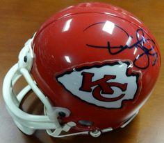 Derrick Thomas Autographed Kansas City Chiefs Mini Helmet PSA DNA. ad00ee577