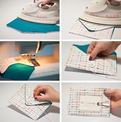 Live it . Love it . Make it.: Make it. Fabric Envelope DIY