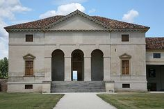 Villa Saraceno by Andrea Palladio English Architecture, Classic Architecture, Architecture Design, Andrea Palladio, Saint Georges, Behance, Georgian Homes, Brick And Mortar, Northern Italy