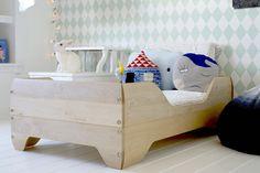 Cama natural #decoração #quarto #criança #ideias #inspiração