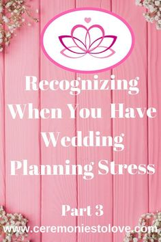 In part 3 of our wedding stress series we offer more tips, ideas and advice for the bride and groom on identifying the causes of wedding stress and how to avoid it. Read and enjoy your wedding planning. Wedding Advice, Plan Your Wedding, Budget Wedding, Wedding Blog, Wedding Events, Wedding Planning, Free Wedding, Diy Wedding, Wedding Day