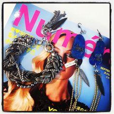 Maiden-Art Jewelry @ Valveat 81 Store Tokyo & on Numero Tokyo Magazine!