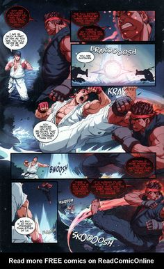 Street Fighter Unlimited Issue #11 - Read Street Fighter Unlimited Issue #11 comic online in high quality