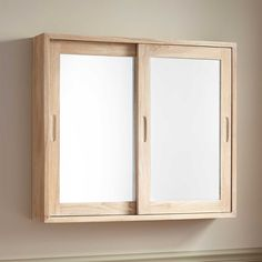 Vero Teak Medicine Cabinet - Bathroom
