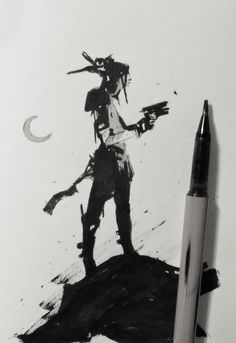 ArtStation - INK_SELECTION_2015 _16, Alexander J
