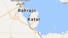 Mapa: Katar