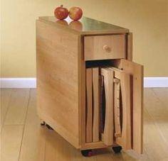 La versatilidad de las mesas plegables   Muebles - Decora Ilumina