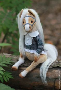Купить Маруся:) - бежевый, лошадка, лошадка игрушка, коник, мишка тедди, тедди, тедди лошадка