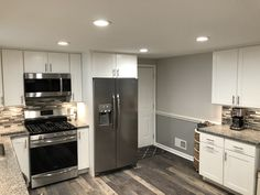 A look of how the flooring , tile , cabinet color , paint , etc. all plays a role in bringing your vision to life . Kitchen Cabinets Showroom, Kitchen Cabinets In Bathroom, York Pa, Cabinet Colors, Next At Home, Plays, Kitchen Remodel, Tile, Flooring