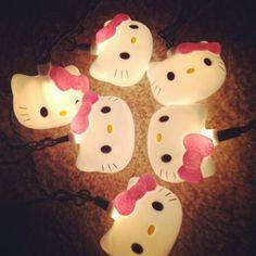 Hello Kitty Christmas String Lights