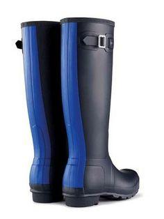 Original Stripe Rain Boots | Hunter Boot Ltd | #fashionfiend Fall ...