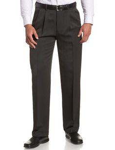 Perry Ellis Men's Portfolio Double Pleated Micro Melange Pant, Charcoal, 44x30 Perry Ellis http://www.amazon.com/dp/B005919QXM/ref=cm_sw_r_pi_dp_M9lPtb12A09RFH8G