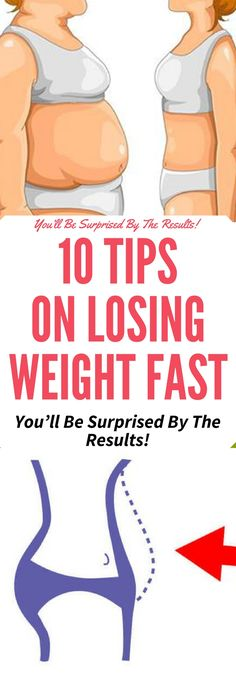 10 TIPS ON LOSING WEIGHT FASTT!!! Need to know..!!!