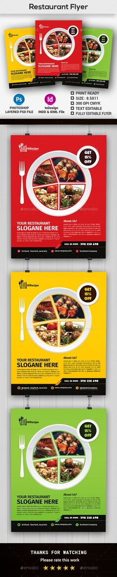 Restaurant Flyer Menu More Flyer template and Menu templates ideas - restaurant flyer