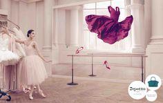 Repetto's Campaign, Fall-Winter 2014 with Dorothée Gilbert, Prima Ballerina