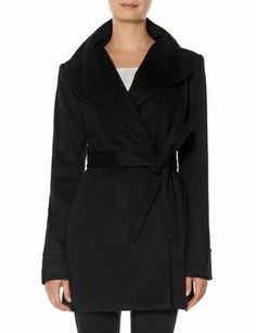 Shawl Collar Wrap Coat from THELIMITED.com