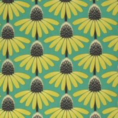Anna Maria Horner - Pretty Potent - Echinacea in Preppy-for my summer napkins