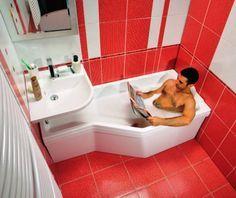 маленькая ванная комната кафель - Поиск в Google